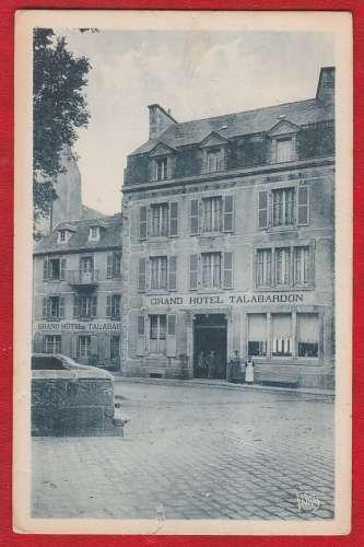 CPA ROSCOFF - GRAND-HOTEL TALABARDON - BATI DANS LA MER