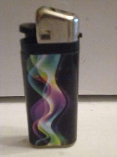 Briquet vide FLAM'UP Volute de fumée colorée