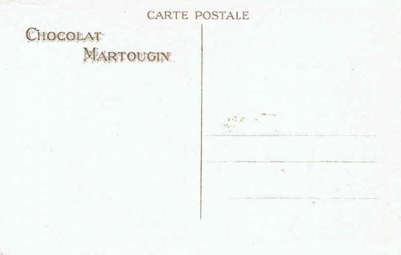 CPA  Chocolat MARTOUGIN - Scène : Grande toilette