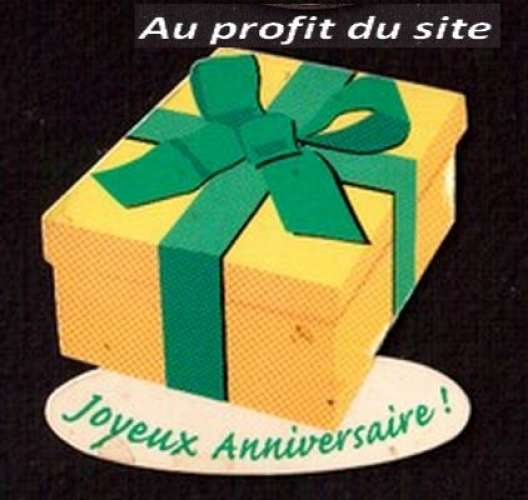 Au Profit Du Site Magnet Joyeux Anniversaire Yves Rocher Site D
