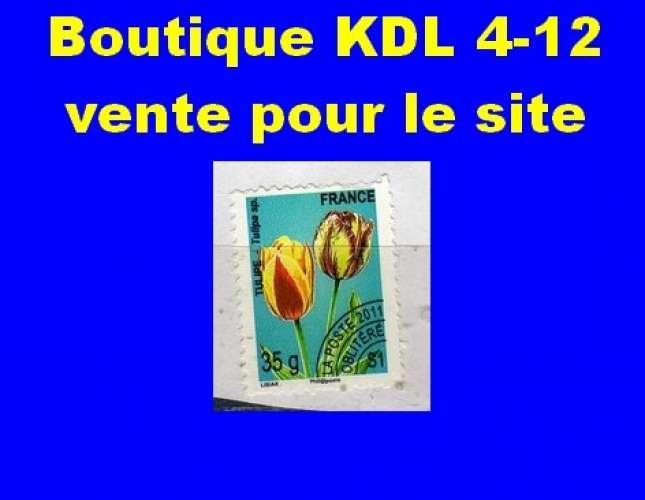 FRANCE - Oblitéré sur fragment - PO 259 Tulipe