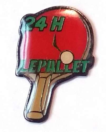 Pin´s Tennis de Table Le Pallet 10 heures Loire Atlantique- Vendu au profit du site