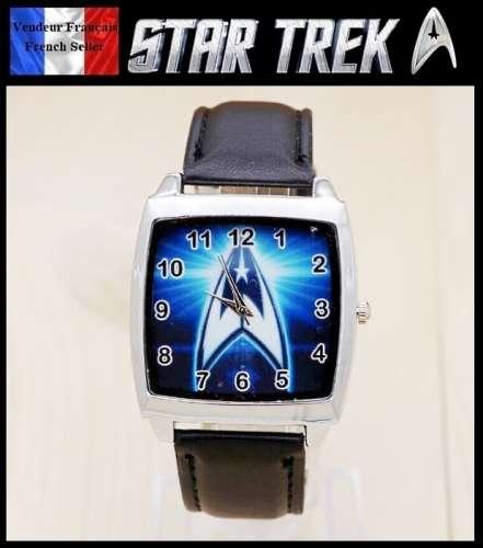 7034959c1e3 Montre à quartz NEUVE Bracelet Cuir ! ( Watch ) - Star Trek - Site d ...