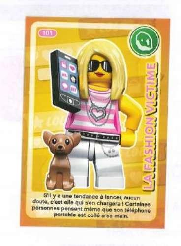 Carte Lego Auchan Livre.Carte A Collectionner Auchan Lego Cree Ton Monde La Fashion Victime