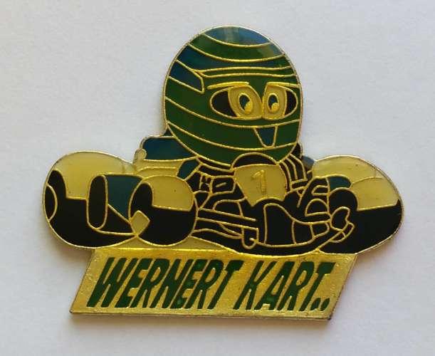 Pin´s Karting WERNERT Le Mans Sarthe - Vendu au profit du site