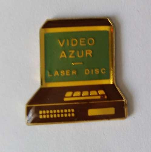 Pin´s VIDEO ASUR LASER DISC - Vendu au profit du site