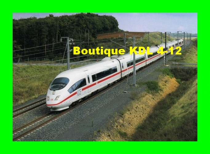 RU 0908 - Train ICE des CF Allemand vers JAULNY - Meurthe et Moselle - SNCF