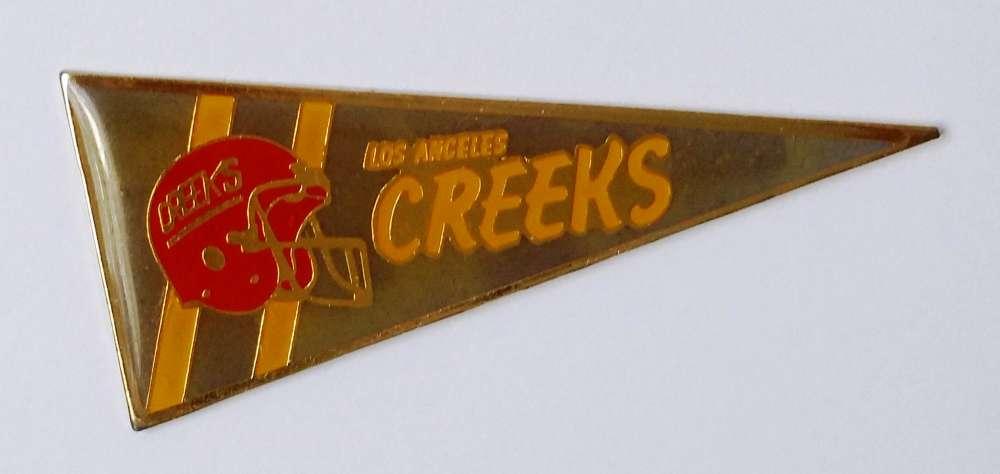 Pin´s Los Angeles Creeks Base ball - Vendu au profit du site