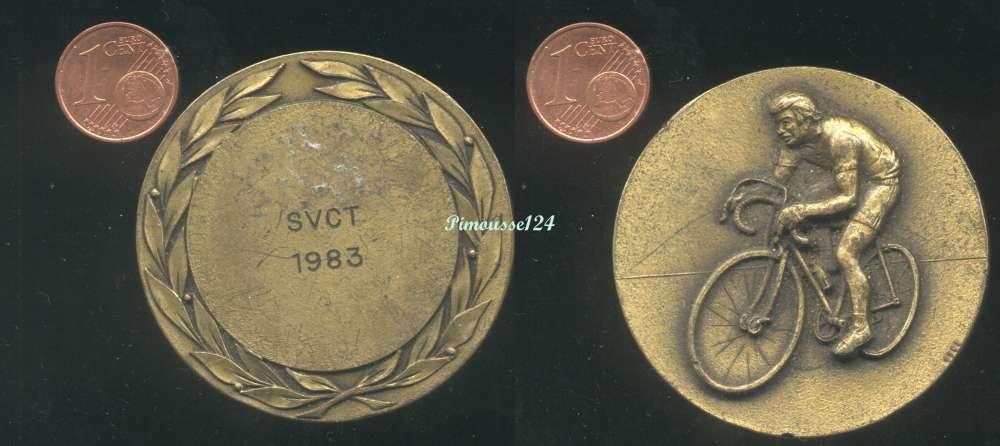 [7389] Médaille : cycliste - SVCT 1983 (à identifier)