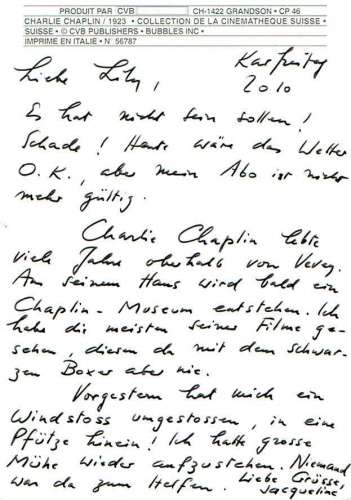 Charlie CHAPLIN 1923