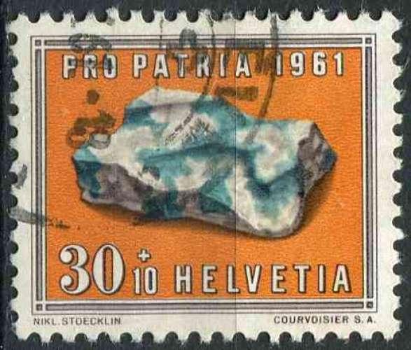 SUISSE 1961 OBLITERE  N° 680