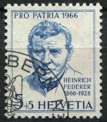 SUISSE 1966 OBLITERE  N° 769