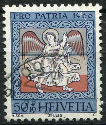 SUISSE 1966 OBLITERE  N° 773