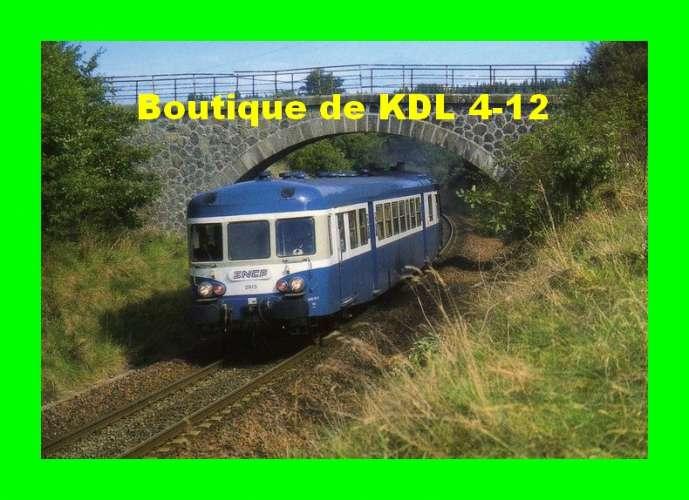 RU 0215 - Autorail X 2913 vers CHALONS D´AIX - Corrèze - SNCF