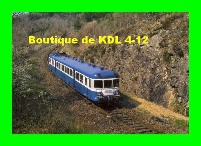 RU 0216 - Autorail X 2834 non localisé - Corrèze - SNCF