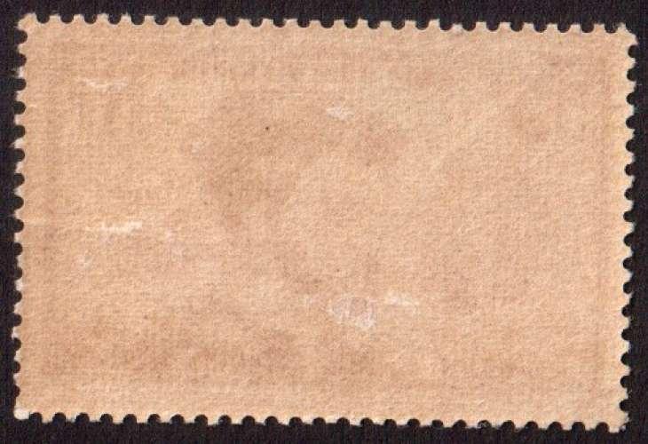 France 1934  Y&T 296 ** Jacques Cartier 75 c lilas  cote 110€