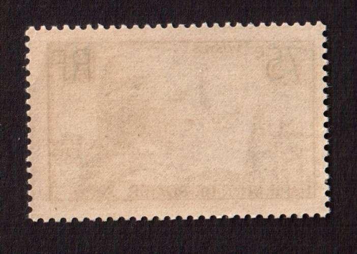 France 1936  Y&T 313 ** Pilâtre de Rozier 75 c  cote 45€