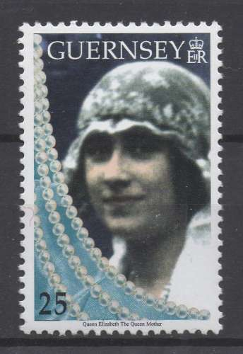 Guernesey 1999 - Y & T : 803 (N**) - Reine Elizabeth