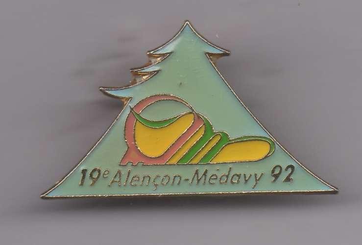 Pin's - 19ème course Alençon-Médavy
