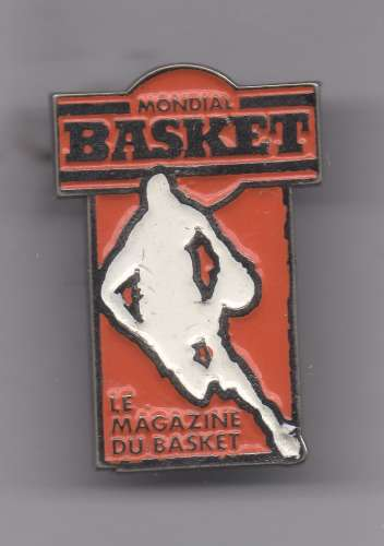 Pin's - Magazine Mondial basket