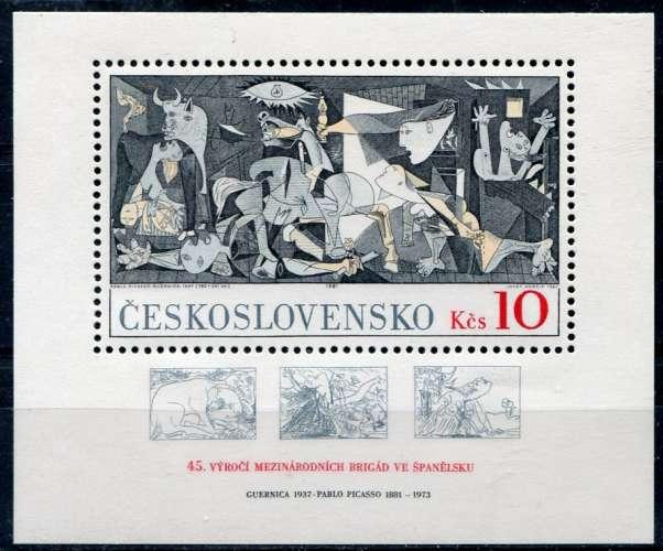 TCHECOSLOVAQUIE   _  Y & T  :   Bloc    N°   51  **  -   Cote  :  9,00  €