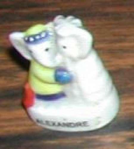Fève Alexandre fils de Babar éléphant