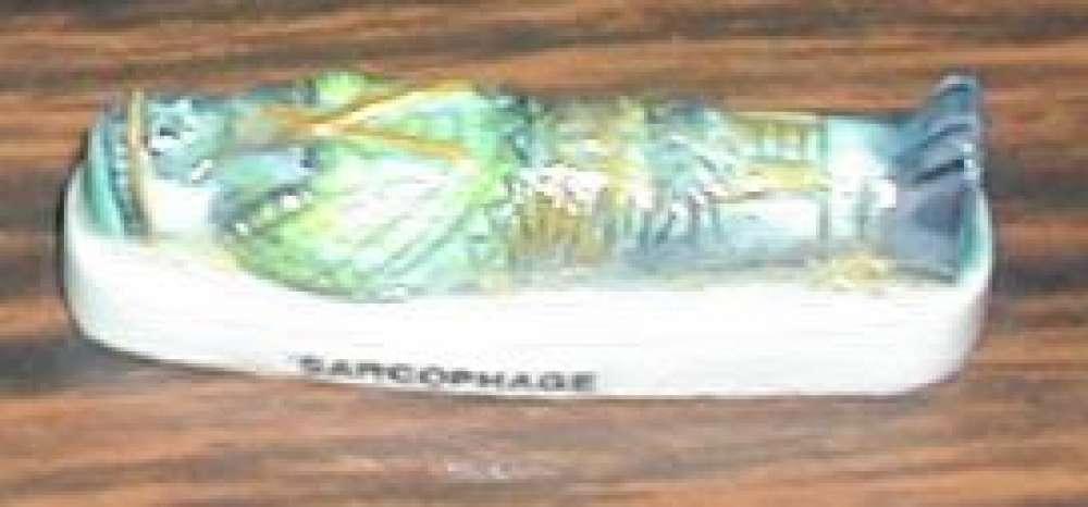 Fève Trésors de l'Egypte Sarcophage