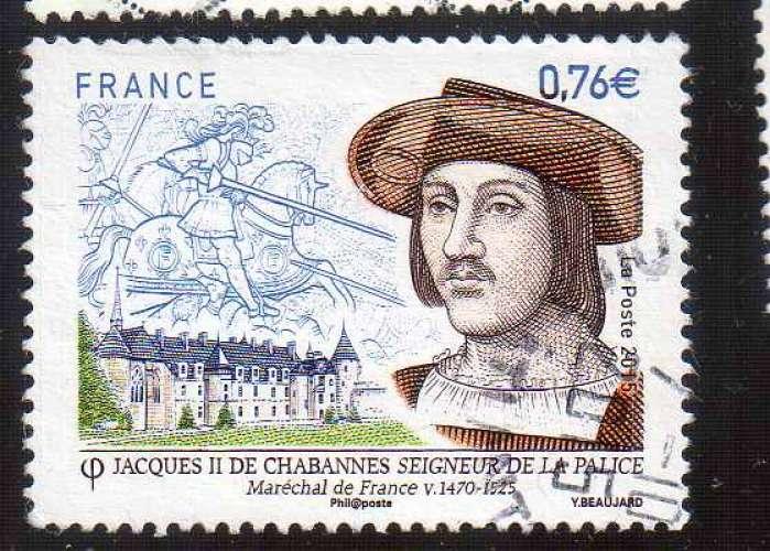FRANCE 2015 OBL   N° 4955
