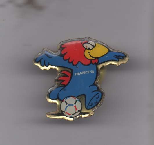 PIN'S - FOOTBALL - France 98 : mascotte officielle Footix