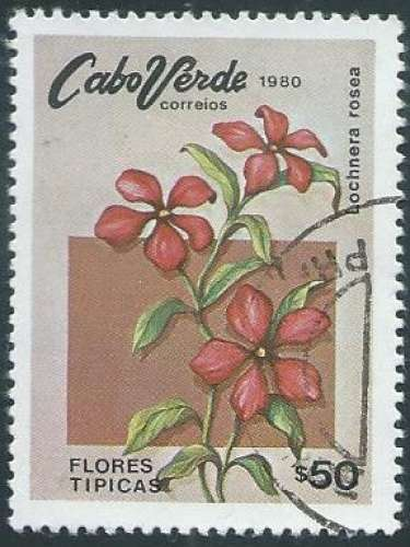 Cap Vert - Y&T 0437 (o) - Année 1980 -