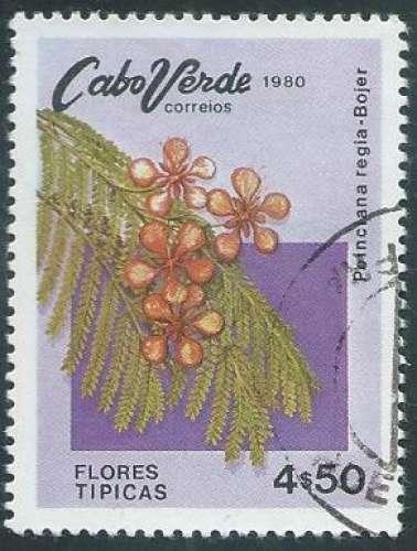 Cap Vert - Y&T 0438 (o) - Année 1980 -