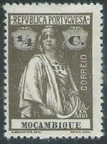 Mozambique - Y&T 0155B (*) - Année 1913 -