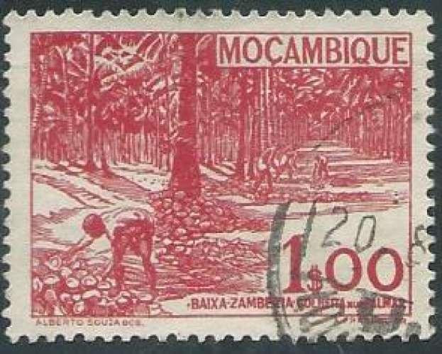 Mozambique - Y&T 0368 (o) - Année 1948 -