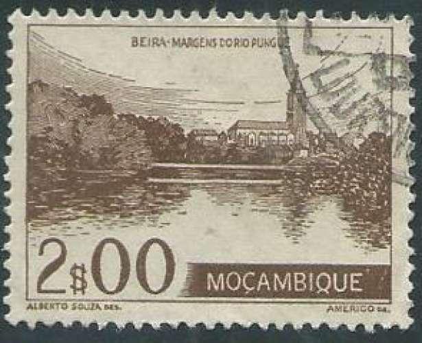 Mozambique - Y&T 0372 (o) - Année 1948 -