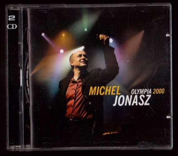 2001 France 2 CD Michel Jonasz Olympia 2000 EMI 7243 5 33627 2 0