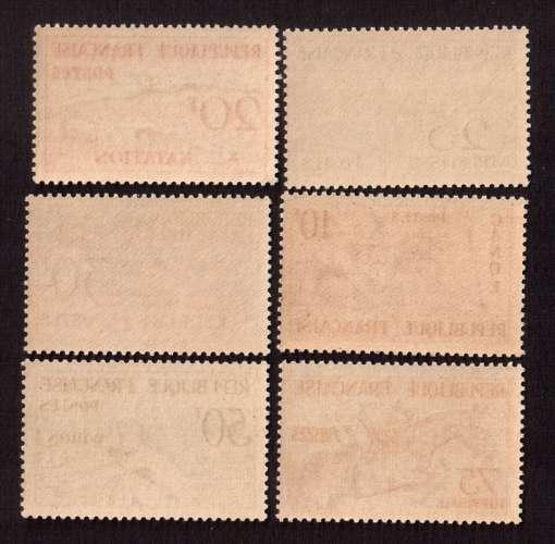 France 1953  Y&T 960 à 965 ** JO d'Helsinki 1952  cote 90,00€