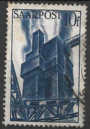 Sarre 1948 Y&T 240 oblitéré