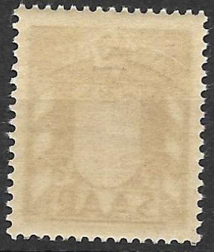 Sarre 1949 Y&T 27 neuf sans charnière - Armoiries (scan dos)