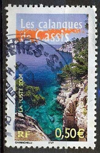 FRANCE   LES CALANQUES DE CASSIS   Y.T. N° 3708  OBLITERE