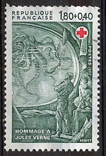 FRANCE   CROIX ROUGE 1982   Y.T. N° 2248  OBLITERE