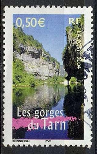 FRANCE  GORGES DU TARN   Y.T. N° 3704  OBLITERE