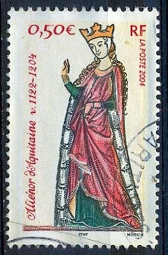 FRANCE  ALIENOR D'AQUITAINE   Y.T. N° 3640  OBLITERE