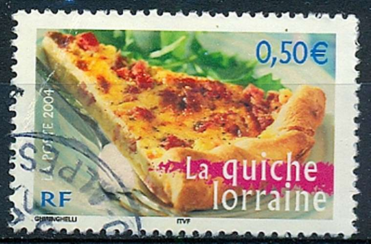 FRANCE   LA QUICHE LORRAINE   Y.T. N° 3652   OBLITERE
