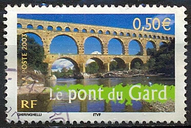 FRANCE  PONT DU GARD   Y.T. N° 3604   OBLITERE