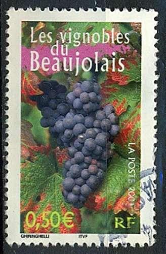 FRANCE  VIGNOBLES DU BEAUJOLAIS   Y.T. N° 3648   OBLITERE