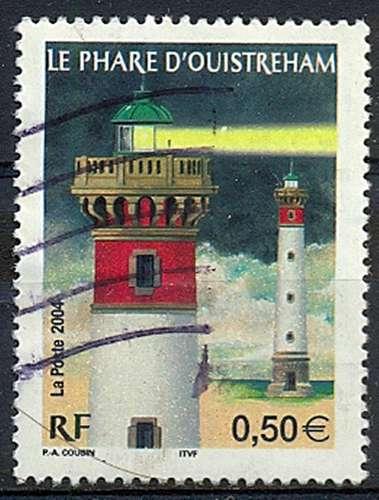FRANCE   LE PHARE D'OUISTREHAM  Y.T. N° 3715   OBLITERE