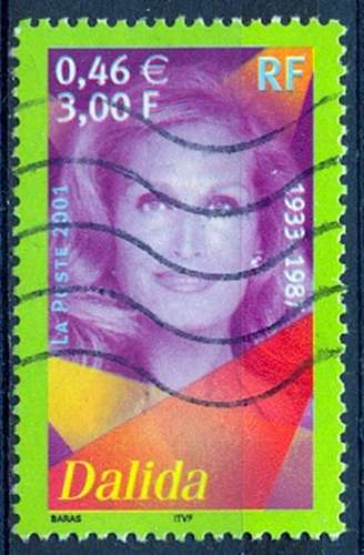 FRANCE  DALIDA  Y.T. N° 3394   OBLITERE