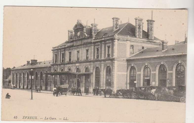 cpa 27 Evreux La Gare