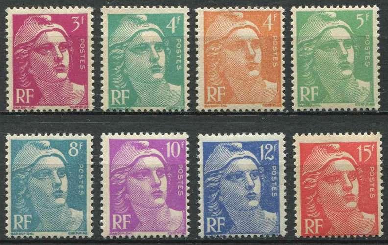 FRANCE 1948 NEUF** MNH N° 806 à 813