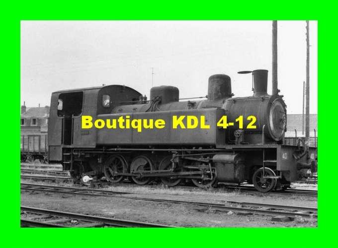 BVA 617-05 - Loco Corpet-Louvet 141 T n° 40 au dépôt - Nord - Cambrésis